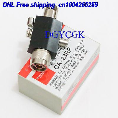DHL 10pcs For Electric Arrestor N Male Plug To N Female Jack 0-2.5GHZ 230V 50 Ohm 400W CA-23RP 22ra