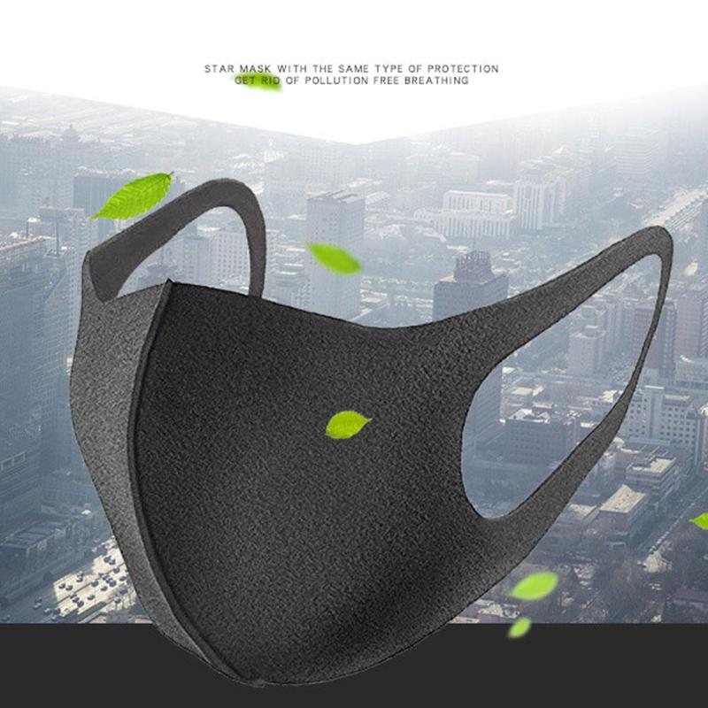Anti-fog Mask Mouth Mask Ice Silk Cotton Anti Dust Mask Sunscreen Anti Tidbits Washable Dustproof Sunscreen Mask