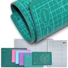A5 a4 a3 tapete de corte, de couro artesanal, placa de gravação, almofada macia, plank, escrita à mão perfurador de costura de 3mm de espessura Polegada tamanho