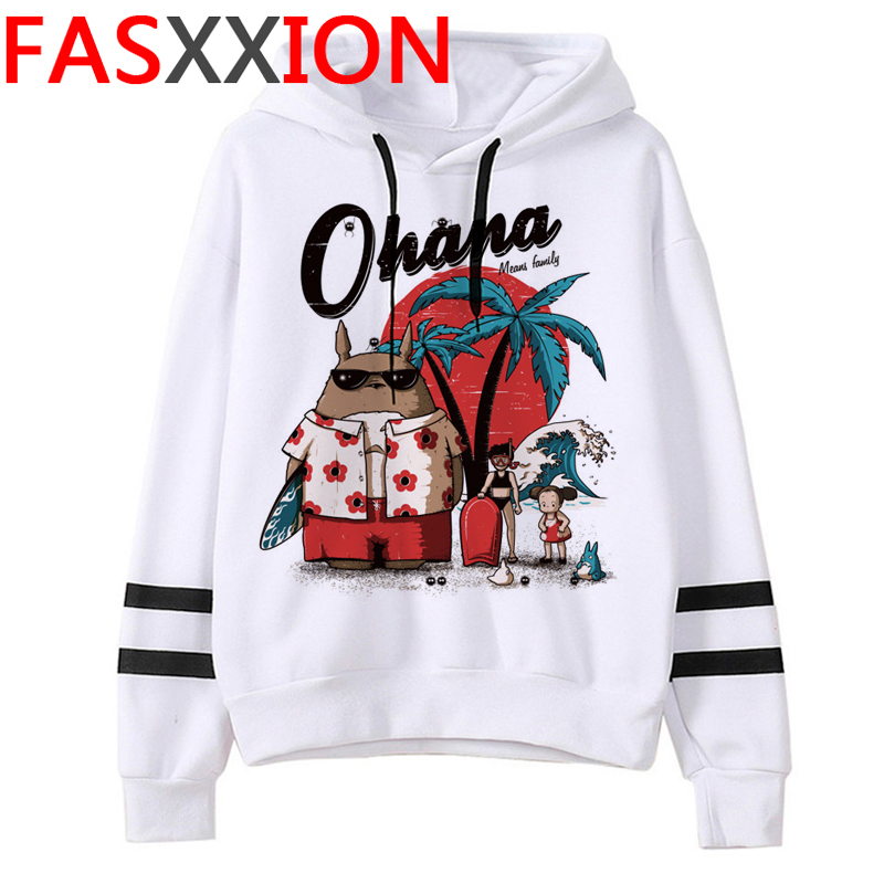 Totoro Studio Ghibli hoodies women streetwear grunge femme hoody sweatshirts hip hop streetwear 14