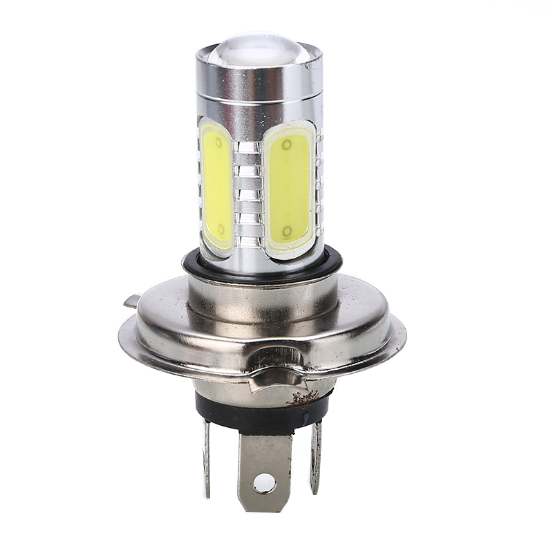 Mayitr 1PC H4 9003 30W High Power Motorcycle LED Headlight COB Durable Bulb White Hi/Lo Beam 6000K For Moto ATV Accessories