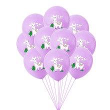 Latex Balloons Helium-Ball Alpaca Wedding-Decoration Llama Baby Shower Happy-Birthday
