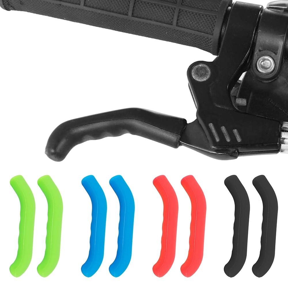 Soft Nonslip Bicycle Bike Handle Bar Grip Cover Black 1 Pair 2 PCS