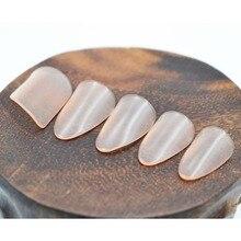 Профессиональные прозрачные ногти для ногтей, натуральные ногти, прозрачный цвет для начинающих, чтобы практиковаться, аксессуары для ногтей