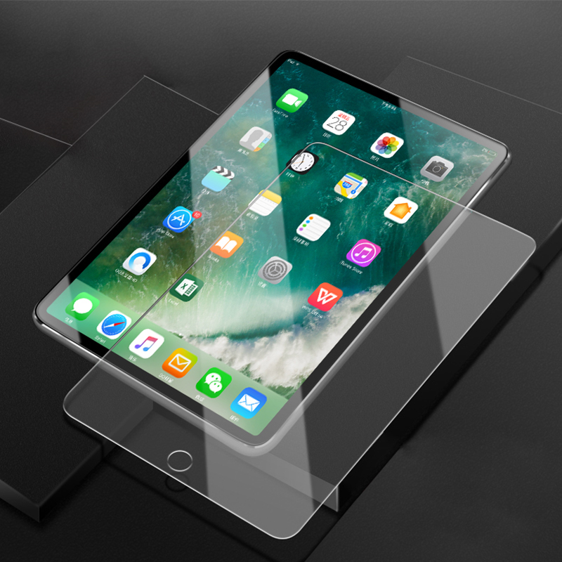 9D Curved Edge Screen Protector For IPad Pro 11 10.5 9.7 Protective Tempered Glass On The For IPad 2017 2018 Air 1 2 Mini 2 3 4