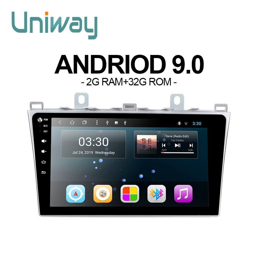 Uniway LXM61090  android 9.0 car dvd for  MAZDA 6 car radio gps navigation
