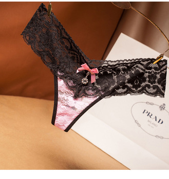 women Sexy Micro Lace Patchwork G string lace thong panties underwears new styles 2019 3