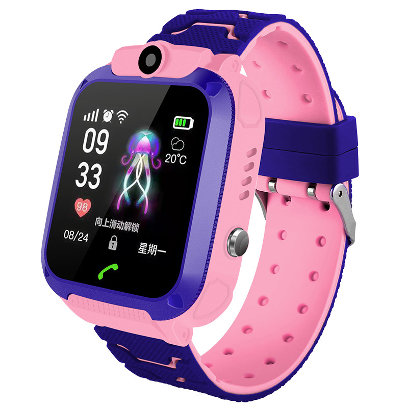 English Version Kids Watches GPS Tracker Children Watch Wifi Touch Screen SOS Call Location Smart Watch Anti Lost Monitor Clock