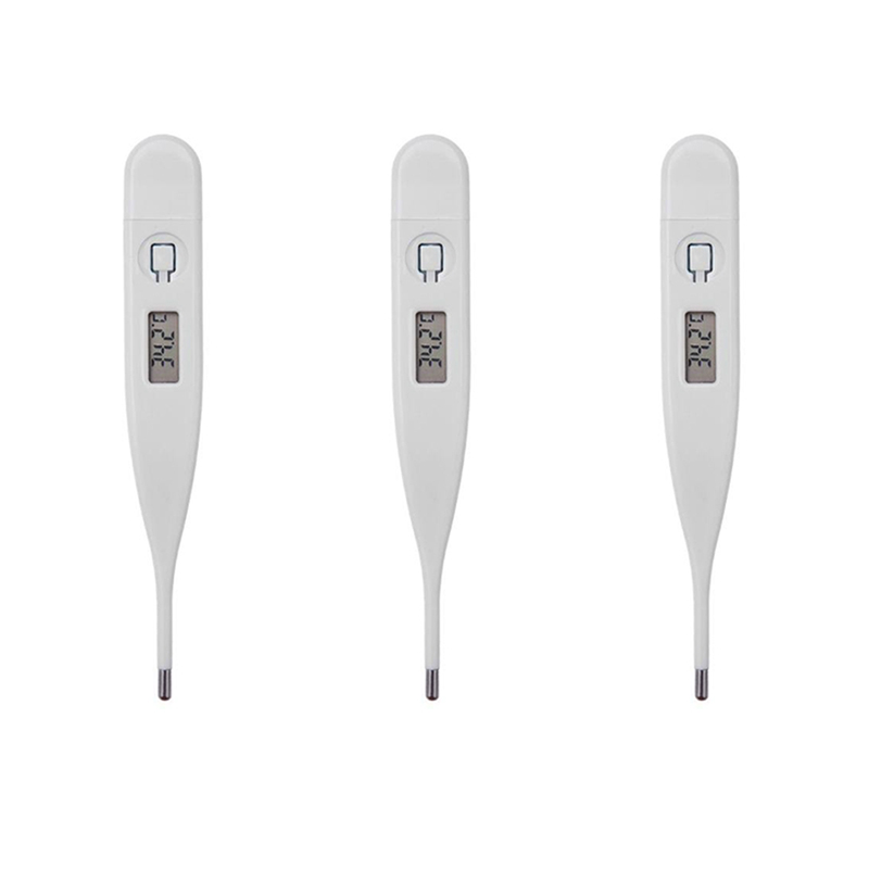 3Pcs Digital LCD Heating Baby Thermometer Tools High Quality Kids Baby Child Adult Body Temperature Measurement MDJ998