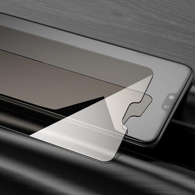 Film de protection de la vie privée verre trempé pour OPPO A5 A3S A85 A79 A77 A73 A71 A59 A57 A39 Film de verre protecteur décran anti-peeping