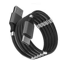 Magnetic Self Winding Cable Magnet Absorption Magic Rope Fast Charging Data Mobile Phone Cables Auto Storage For Samsung Huawei