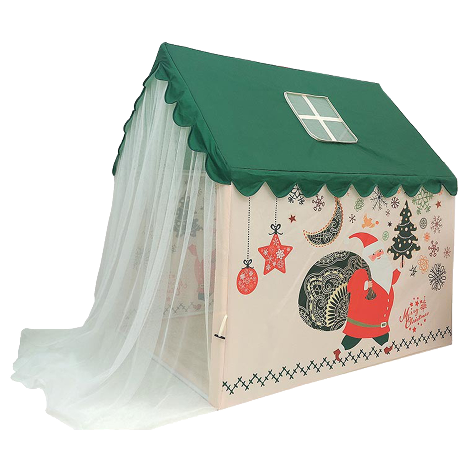 Children Castle Tent Play Tent Portable Pretend Toy Indoor Outdoor Fortable Game House Interesting Zone Room For Kids