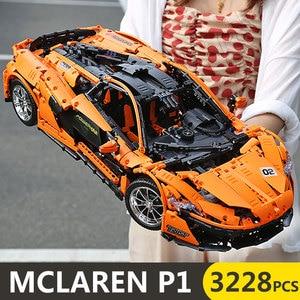 Image 2 - Technic Auto Serie Supercar Model Bouwstenen Bakstenen Kinderen Racing Speelgoed Compatibel Nieuwe 20091 20087 22970 Geschenken Sport Auto