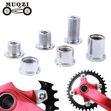 Bolts Crank-Plate Screws Bicycle-Accessories Chainwheel Road-Bike Steel MUQZI 5-Pair