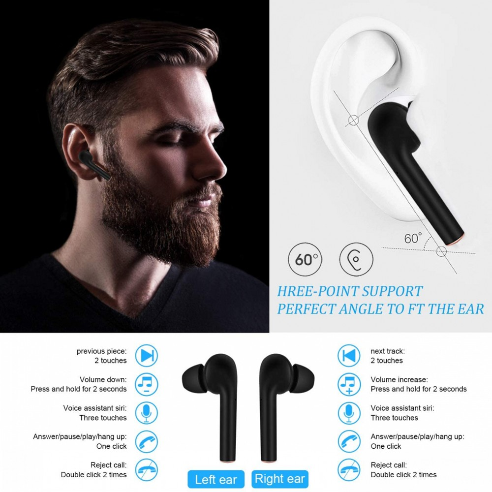 Wireless Earphones Bluetooth 5.0 3