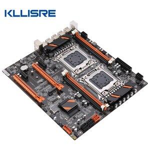 Image 2 - Kllisre X79 Dual Cpu Moederbord Lga 2011 E ATX Main Board USB3.0 SATA3 Pci E 3.0 16X Pci E Nvme M.2 Ssd Ondersteuning xeon Processor