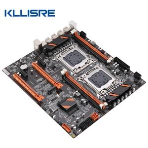 Image 2 - Kllisre X79 doble CPU placa base LGA 2011 E ATX Tablero Principal USB3.0 SATA3 PCI E 3,0 16X PCI E NVME M.2 SSD compatible con procesador Xeon
