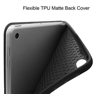 Image 4 - MTT kılıf iPad 10.2 inç 7th 8th nesil kalem tutucu ile yumuşak TPU + PU deri Fold kapak akıllı funda Tablet kılıf a2198