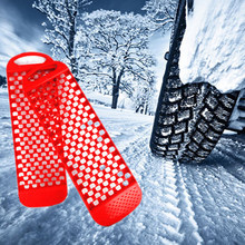 2 Pack Aid Tractie Boards Anti-Slip Board Voor Auto Banden In Sandy Modder Besneeuwde(China)