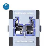 Qianli Doppelseitige iSocket Motherboard Leuchte für IPhone X Oberen Unteren Schicht Logic Board Trennung Teardown Reparatur Plattform