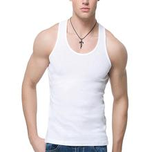 Oversized Men Summer Solid Color Breathable Soft Tank Tops C