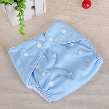 Baby Washable Cloth Diaper Cover Cartoon Adjustable Nappy Reusable Diapers training pants newborn insert underwear