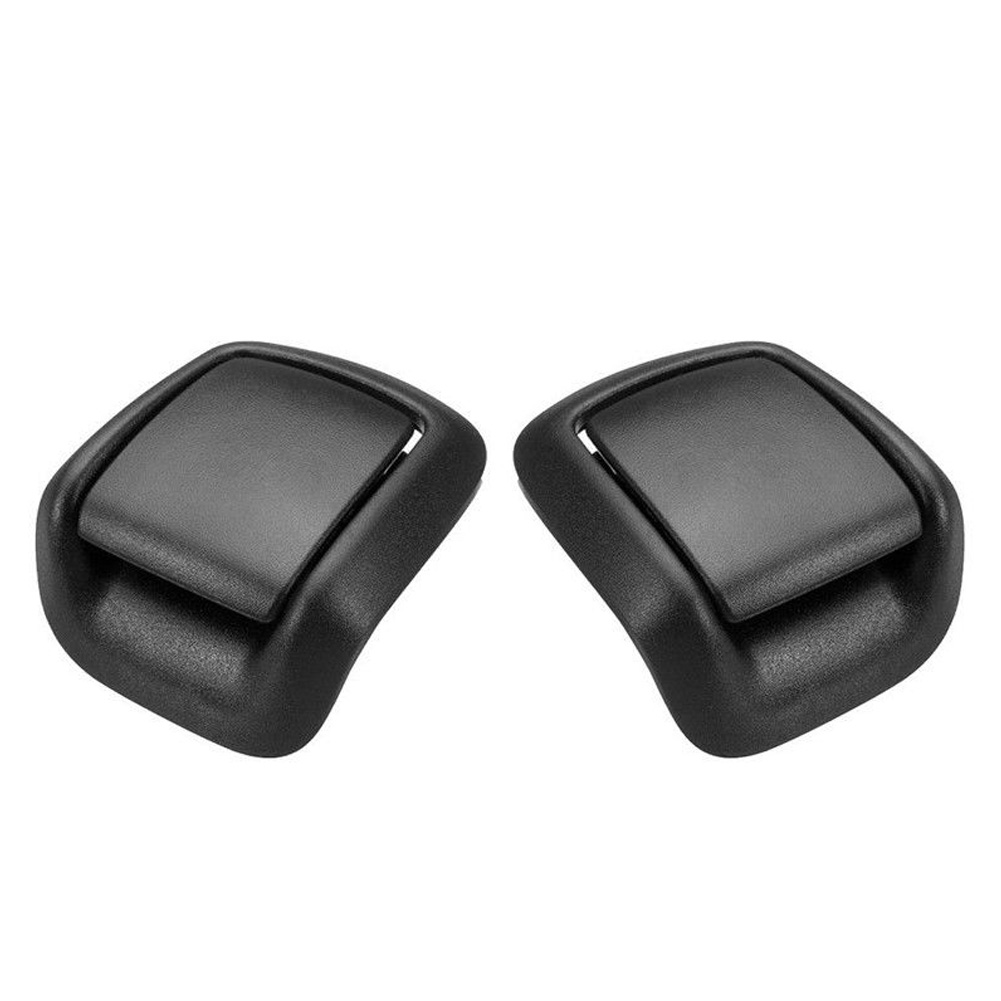 1 Pair 1417521 1417520 Cover Armrest Car Front Seat Tilt Accessories Direct Replacement Right Left Plastic For FORD Fiesta MK6