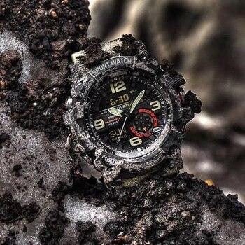 2020 Mens Sports Watches G Style Military Waterproof Wristwatches Shock Analog Quartz Digital Watch Men relogio masculino reloj цена 2017