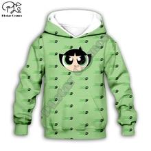 Kids Cloth Anime Flying police Girls Cartoon 3d hoodies/tshirt/boy sweatshirt Hot Movie pant style-5