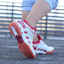Authentic High Quality Athletics Volleyball Shoes Ladies Profession Training Cushioning Sport Sneakers Women Match Tennis Shoes