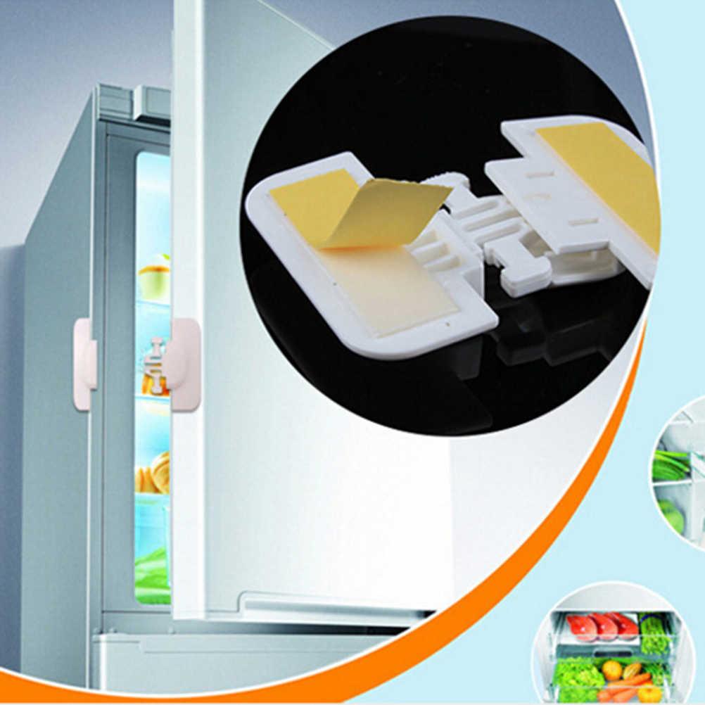 Haute Quality1PCS bébé sécurité serrure réfrigérateur tiroir armoire armoire porte tiroir serrure loquet avec Double face adhésif blanc