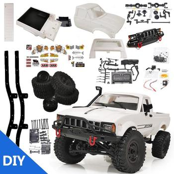 WPL C24-1 4WD 1/16 Kit 2.4G Crawler Off Road RC Car 2CH Vehicle Models With Motor Servo and Head Light 1