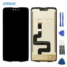 Aicsradオリジナルdoogee s90液晶表示画面完璧交換用アクセサリーdoogee s 90プロ6.18インチ電話 + ツール