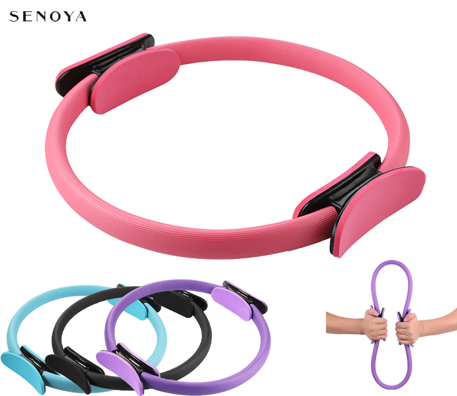 Yoga Magic Circle Ring Professional Pilates Sport Resistance Tools Exercise  Gym Home Muscle Accessories Women Fitness