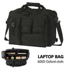 متعددة الوظائف الجيش مروحة سعة كبيرة الرجال حقيبة ساعي في الهواء الطلق Crossbody حقيبة كتف حقيبة يد الكمبيوتر التكتيكية التخييم
