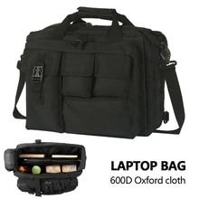 다기능 육군 팬 대용량 남자 메신저 가방 야외 Crossbody 숄더 가방 전술 컴퓨터 핸드백 캠핑