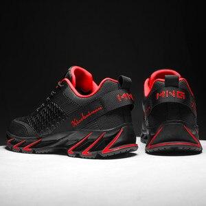 Image 5 - Nieuwe Lente Herfst Casual Schoenen Mannen Grote Size39 44 Sneaker Trendy Comfortabele Mesh Mode Lace Up Volwassen Mannen Schoenen Zapatos hombre