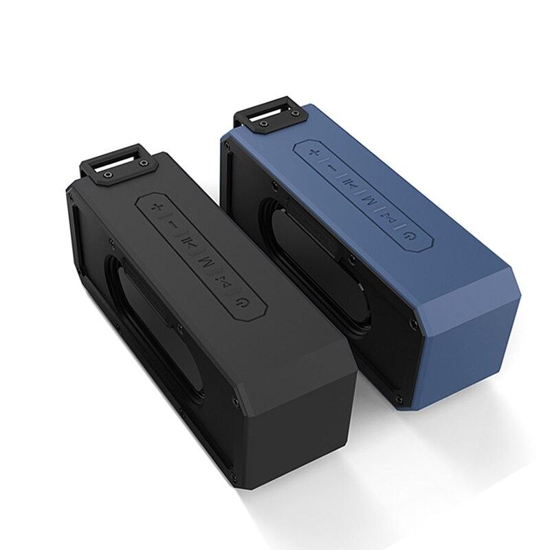 IPX7 étanche Portable type-c sans fil TWS Bluetooth V4.2 stéréo haut-parleur de basse Audio DSP son TF haut-parleur pour extérieur avec micro