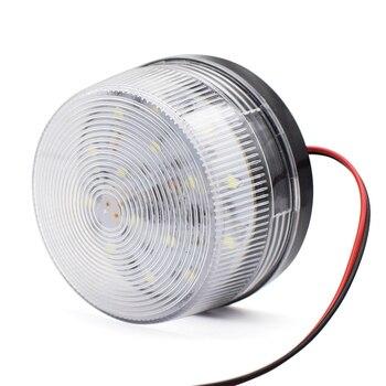 DC 12V 24V lub 220 AC LED brama migające światło lampa alarmowa dla swing brama przesuwna otwieracz/bariera brama sygnał migająca lampka stroboskopowa