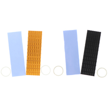 Heatsink Heat Dissipation Radiator m.2 Ngff Cooling Heat Sink Heat Thermal Pad diy silicone thermal pad heat conduct mat for heat sink grey 400mm x 200mm x 1mm