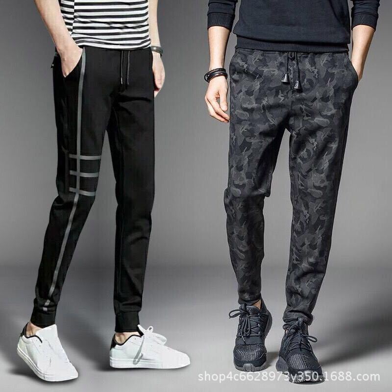 To Fight A Lot Of Supply Of Goods Spring And Summer MEN'S Casual Pants Korean-style Students Athletic Pants Men's Teenager Loose