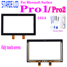 For Microsoft Surface Pro1 Pro 1 1514 Pro2 Pro 2 1601 Touch Screen Digitizer Glass Replacement Not LCD все цены