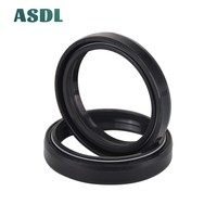 58 48x58x9/11 48X58  Motorcycle Front Fork Damper Oil Seal and Dust seal Dust Cover 48 58 9/11 (48*58*9/11) #d (2)
