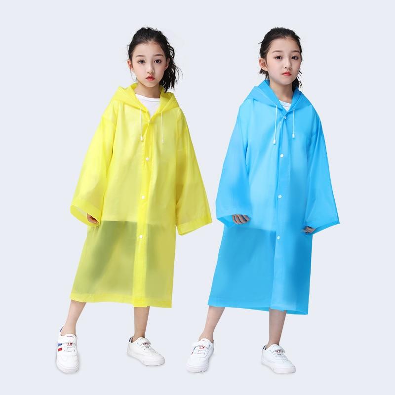 Raincoat For Children Waterproof Rainwear For Kids Rainsuit For Girls Rainproof
