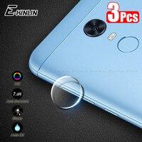 3 unids/lote nuevo lente de la cámara de película Protector de pantalla de vidrio templado para XiaoMi Redmi Nota 6 5 Plus 5A 4 4X primer Pro