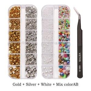 Image 5 - Contas de pérolas para fazer jóias, 1000 pçs/saco coloridas redondas, meia pérola, para fazer jóias, costura, plástico abs, pérola beads2mm/3mm/4mm/5mm/6mm/8mm