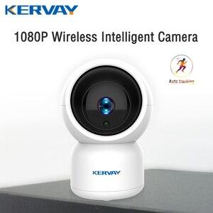 Image 1 - 1080 p hd wifi câmera de vigilância de rede noite câmera interna casa p2p cctv câmera wi fi função onvif câmera com áudio bidirecional