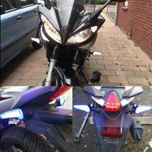 Image 5 - SPIRIT BEAST LED Light Motorcycle Flasher Turn Signal indicators for Kawasaki Z650 Triumph Street Triple Honda Cbr 250r cb1000r