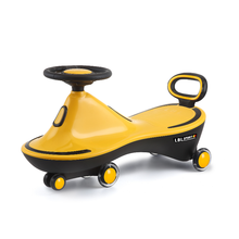 Baby Swing Car Boys and Girls Baby Walker Toys with Music Light Luge Anti-Rollover  baby cart Children's Twisted Car
