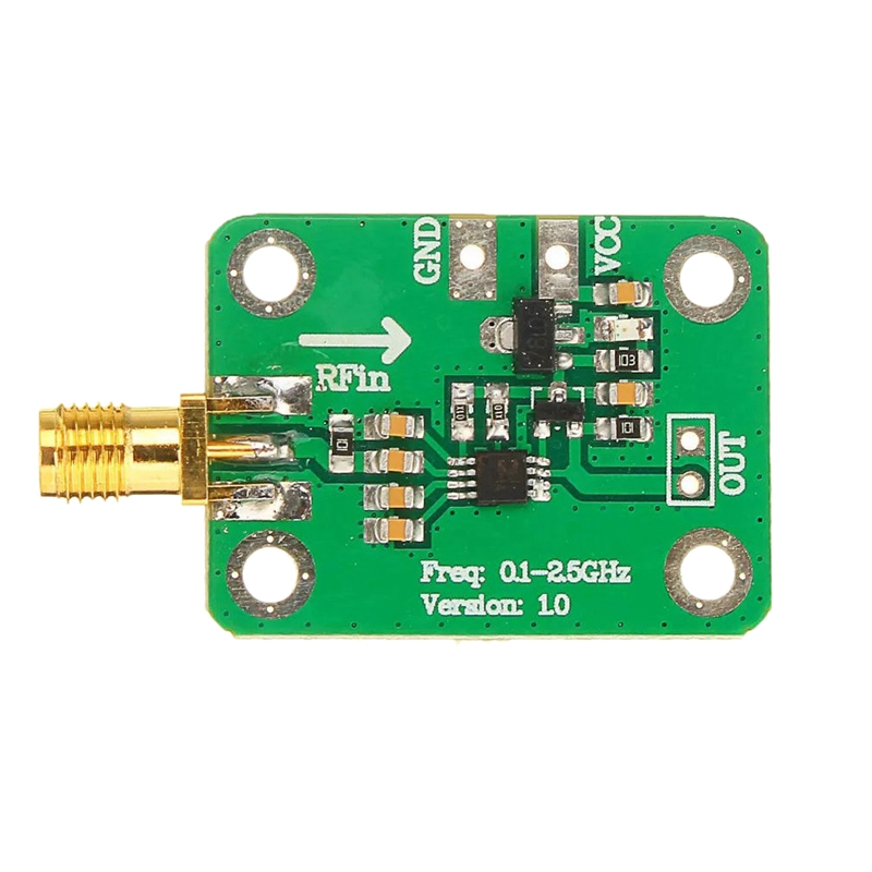 Medidor de Potência Detecção de Energia Quente Moudle Logarítmica Detector Ampla Xd-1pc Ad8313 rf